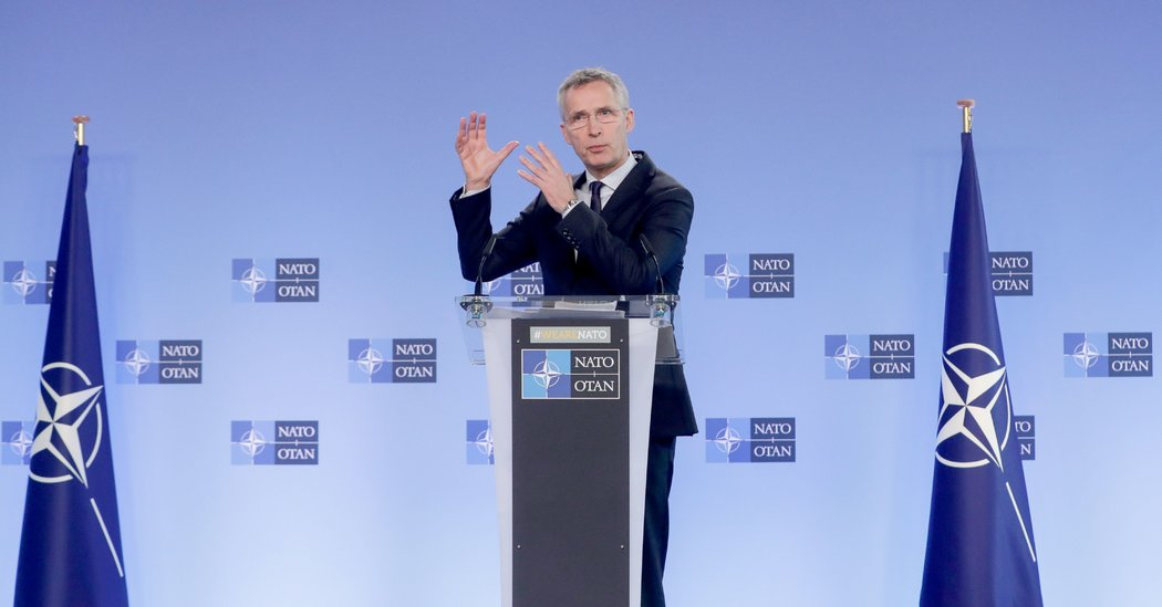 NATO Calls for 'Peaceful Solution' After Airstrikes in Syria