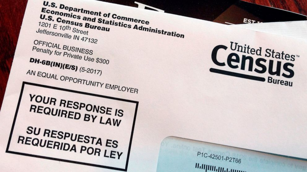 AP-NORC poll: Most Americans plan to participate in census