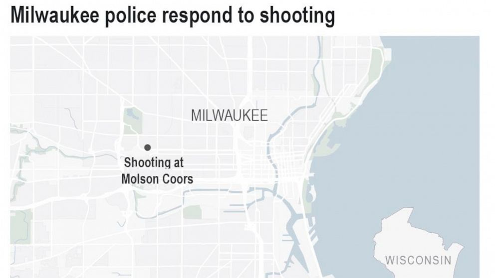 Multiple people dead in Milwaukee shooting at Molson Coors