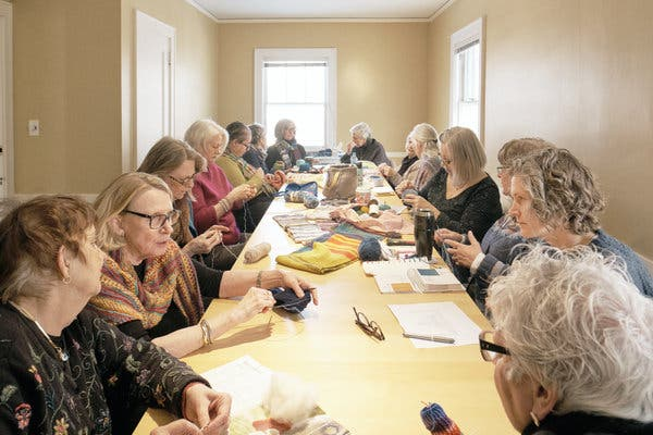 Knitters Chronicle Climate Change One Stitch at a Time