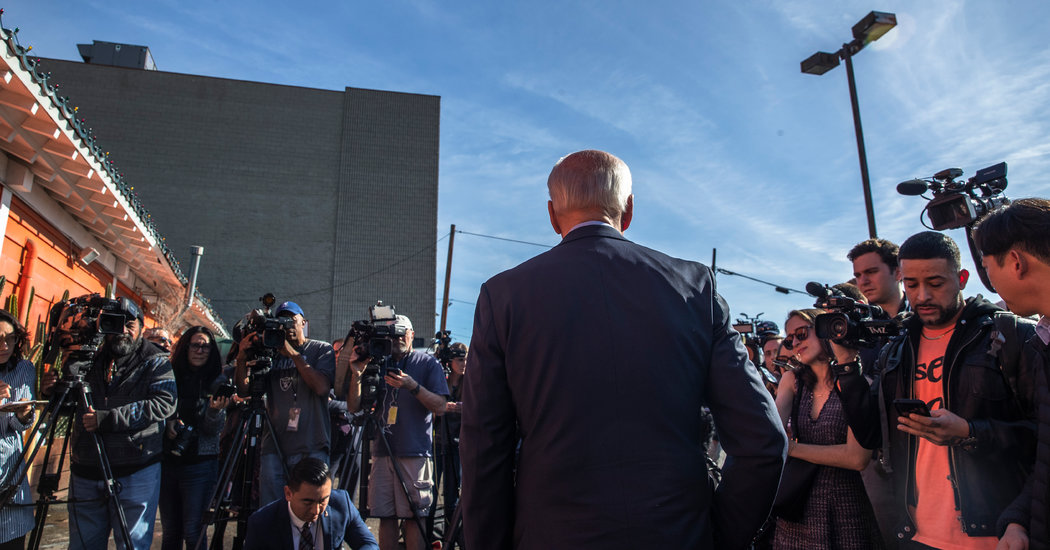 'He Hasn't Been Here': Why Joe Biden Lags in Super Tuesday States