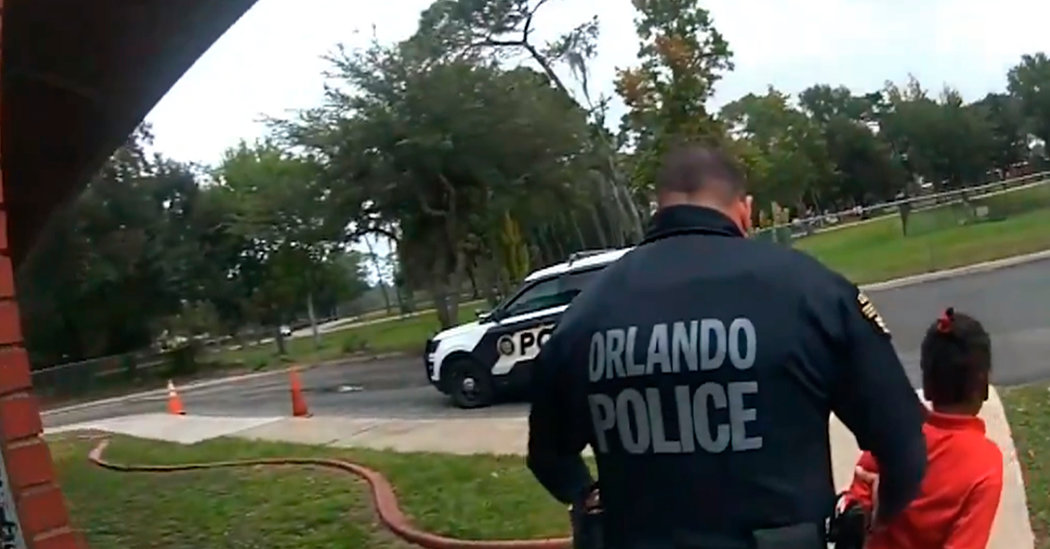 Police Body Cam Video Shows Arrest of 6-Year-Old at Florida School