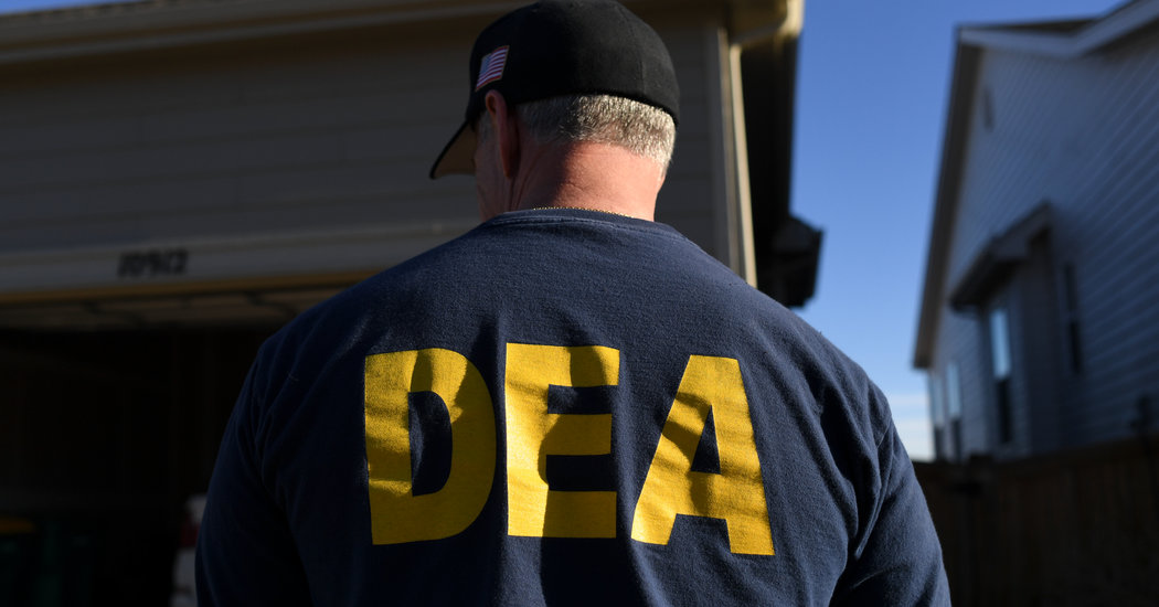 Former D.E.A. Agent Charged With Laundering Colombian Drug Money