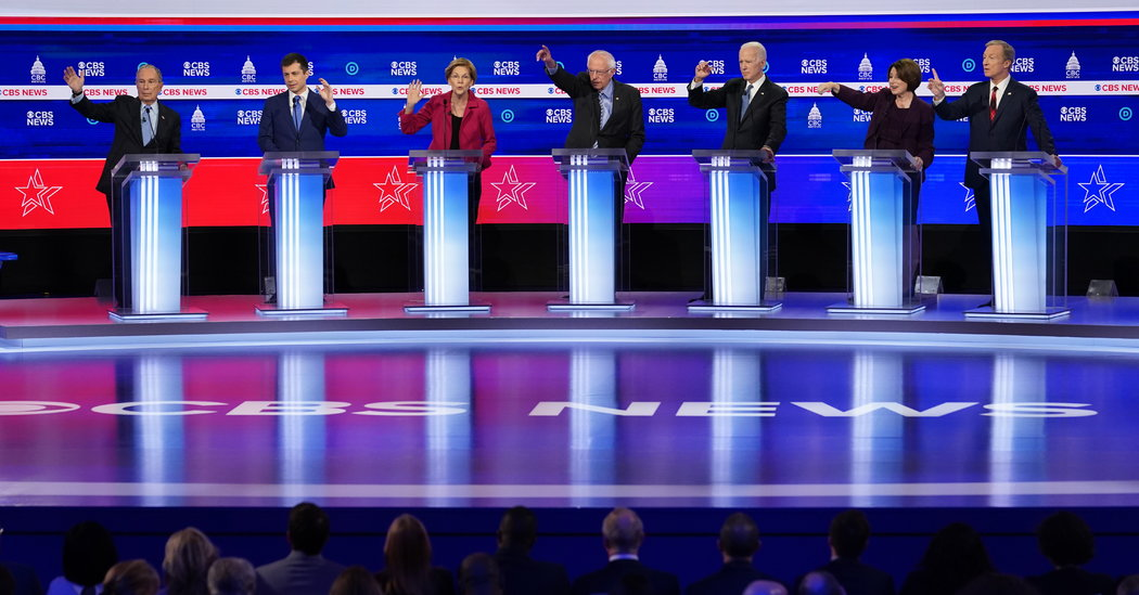 Watch: Highlights From the Democratic Debate