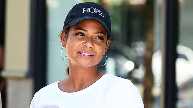 Christina Milian Shows Off Post-Baby Body In Strapless Jumpsuit 1 Month After Welcoming Son Isaiah