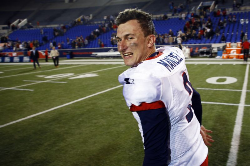 Does Manziel have interest in joining the XFL?