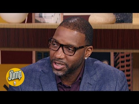 Tracy McGrady reacts to the memorial for Kobe and Gianna Bryant | The Jump
