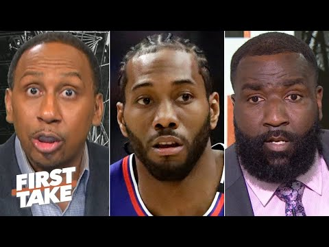 Stephen A. and Kendrick Perkins are concerned about the Clippers   First Take