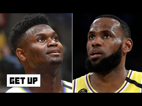 Reacting to Zion's first matchup against LeBron | Get Up