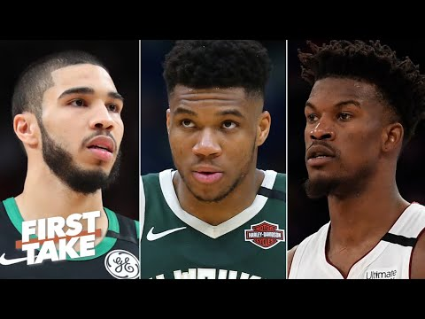 Celtics or Heat: Which team is the biggest threat to Giannis and the Bucks in the East? | First Take