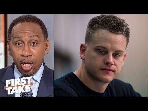 Stephen A. questions Joe Burrow's potential to be a great quarterback in the NFL | First Take