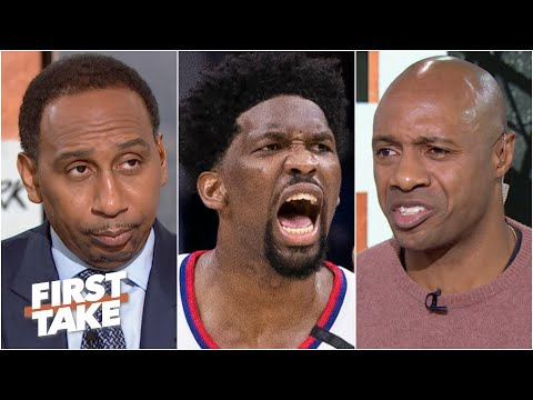 First Take debates whether Joel Embiid can carry the 76ers without Ben Simmons