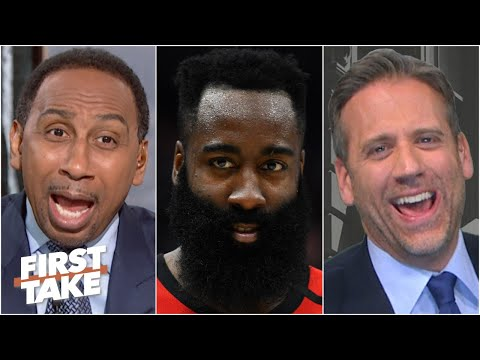 'You're so disrespectful to James Harden!' – Stephen A. blasts Max Kellerman | First Take