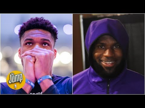 Zion could be the NBA's future, but it's still LeBron and Giannis' NBA – Rachel Nichols | The Jump