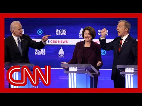 Amy Klobuchar explains what she was thinking in heated debate photo