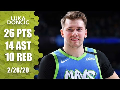 Luka Doncic records 26-point triple-double in Mavs vs. Spurs | 2019-20 NBA Highlights