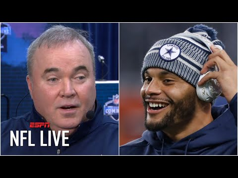Mike McCarthy: Dak Prescott's contract is the Cowboys' top priority | NFL Live