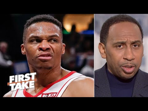 'What do you mean you don't care?' – Stephen A. reacts to Russell Westbrook's comments | First Take