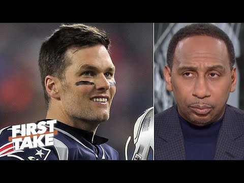 Stephen A. can't picture Tom Brady leaving the Patriots | First Take
