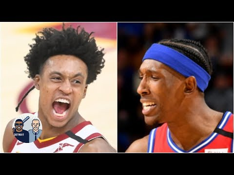 Collin Sexton drops Josh Richardson: A nasty crossover or a blatant push-off? | Jalen & Jacoby