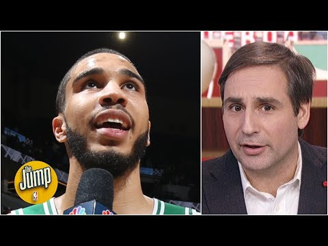 Jayson Tatum's potential is so scary, I'm not comfortable naming his comps – Zach Lowe | The Jump