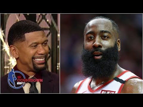 James Harden is wrong, Giannis would be MJ if he were 6-foot-6 – Jalen Rose   NBA Countdown