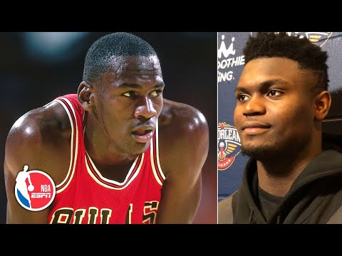 'My name next to Michael Jordan!' Zion Williamson honored to share feat with MJ | NBA Sound
