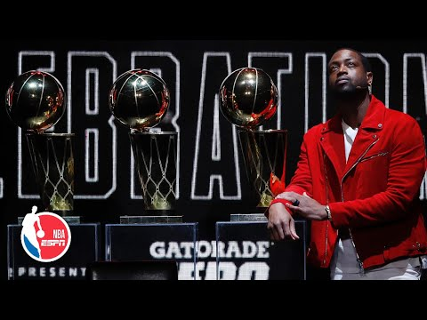 Dwyane Wade honored by the Heat at 'FlashBack L3GACY Celebration' | NBA on ESPN