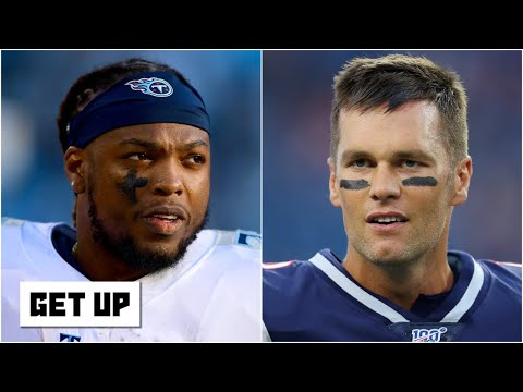 Derrick Henry defends Ryan Tannehill over Tom Brady as the Titans' QB | Get Up