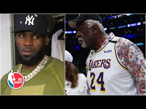 LeBron James: Bill Russell wearing Kobe Bryant's jersey is all about respect | NBA on ESPN