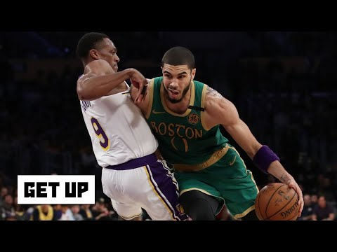 Jayson Tatum put on a clinic against the Lakers – Kendrick Perkins   Get Up