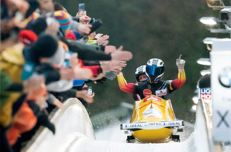 Bobsleigh-Germany's Friedrich wins record 10th world title