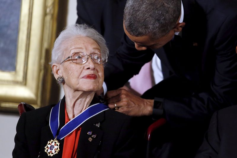Katherine Johnson, 'Hidden Figures' mathematician on early U.S. space missions, dead at 101