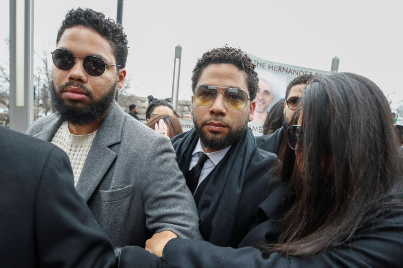 Actor Smollett denies renewed hoax charges in Chicago, is released on bond
