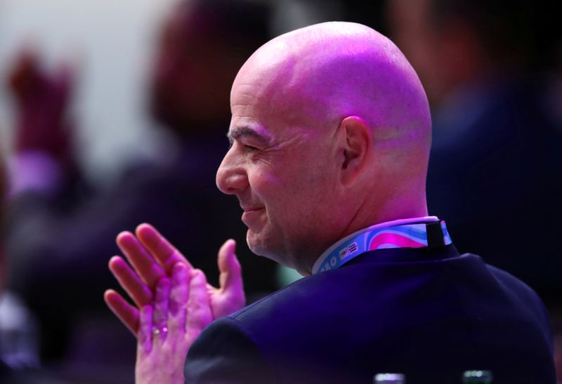 FIFA chief Infantino says open to changes in offside law