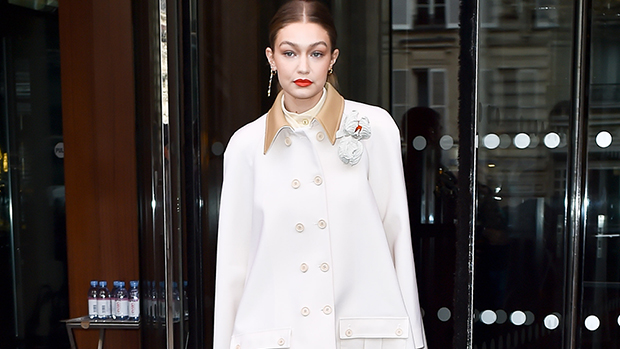 Stars In Head-To-Toe White Outfits – Gigi Hadid, Hailey Baldwin & More Stars Rock The Winter Trend