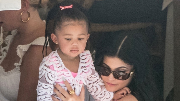 Kylie Jenner Sweetly Holds 2-Year-Old Daughter Stormi's Hand In Cute Vacation Pic