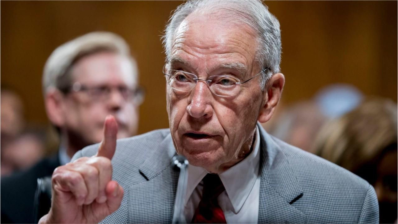 Grassley on congressional response to coronavirus: 'Everything is on the table'