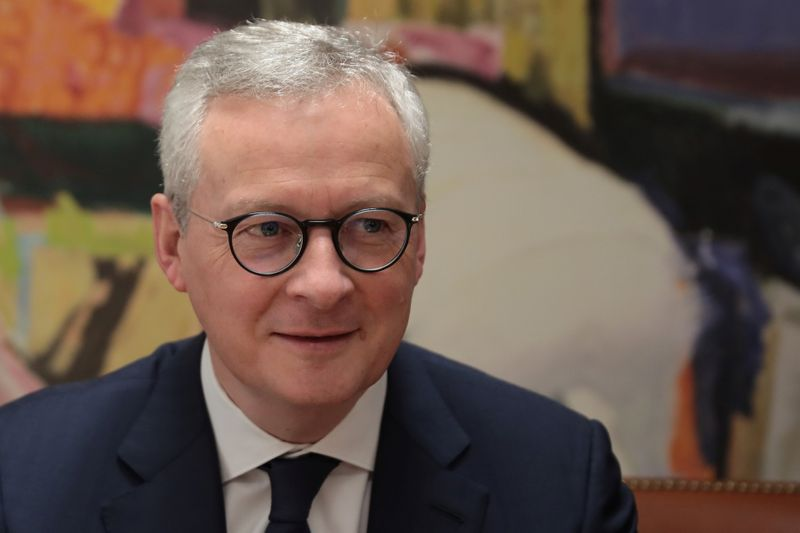 Europe must be ready for fiscal stimulus over virus: French minister