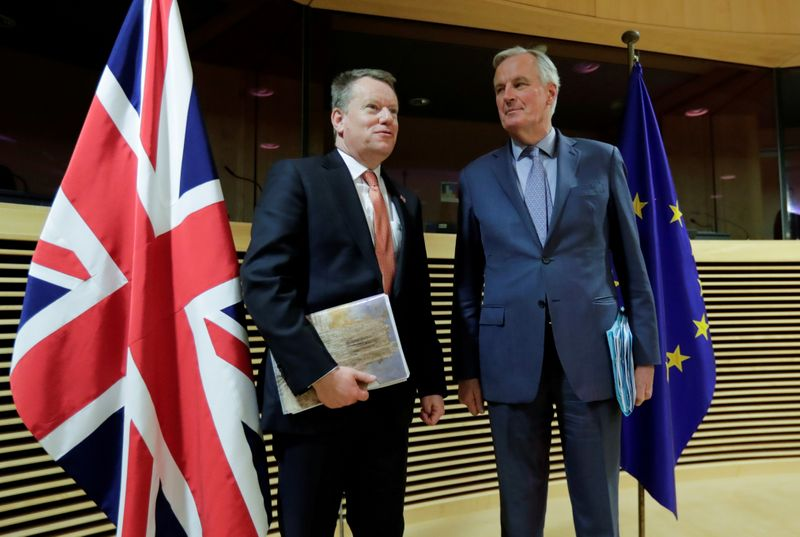 Exclusive: EU says UK seeks to undermine its unity at trade talks – document