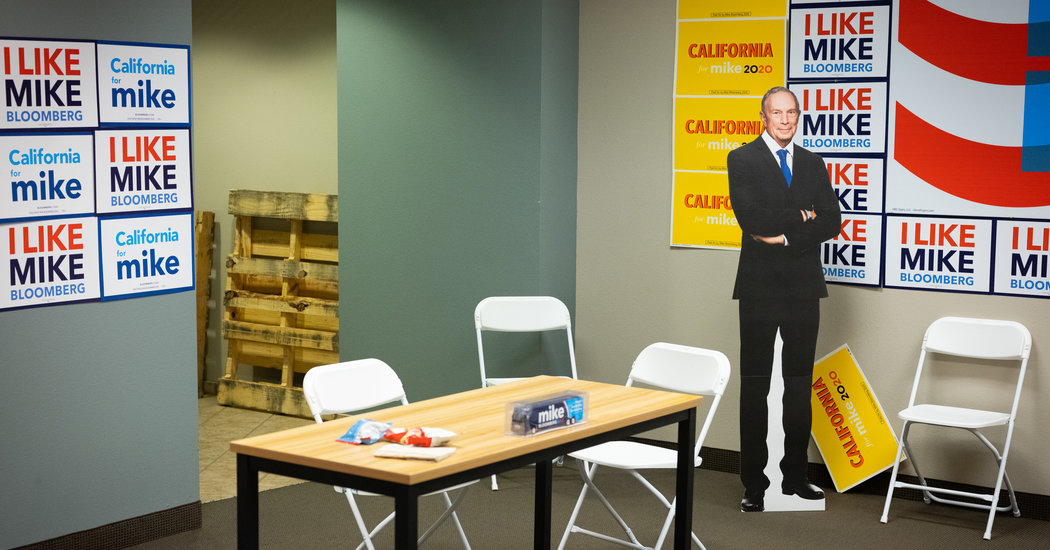 Bloomberg's Job Security Promises Are Falling Through, Campaign Workers Say