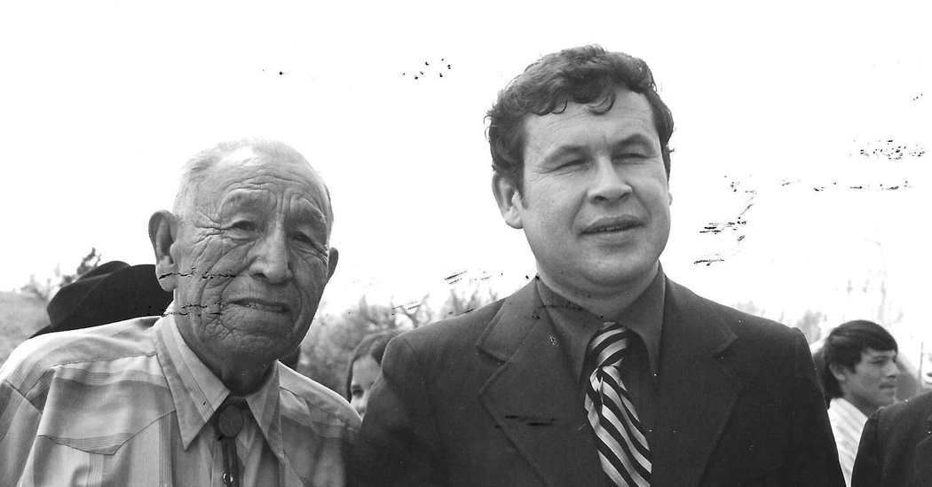 Charles Trimble, Advocate for Native American Rights, Dies at 84