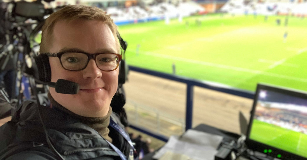 With Live Sports Gone, Announcer Offers Play by Play of the Everyday