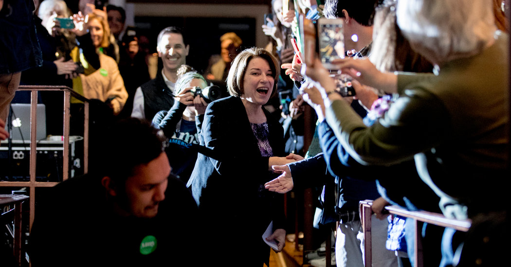 Klobuchar's Challenge: Recreating a New Hampshire Surge in 14 States