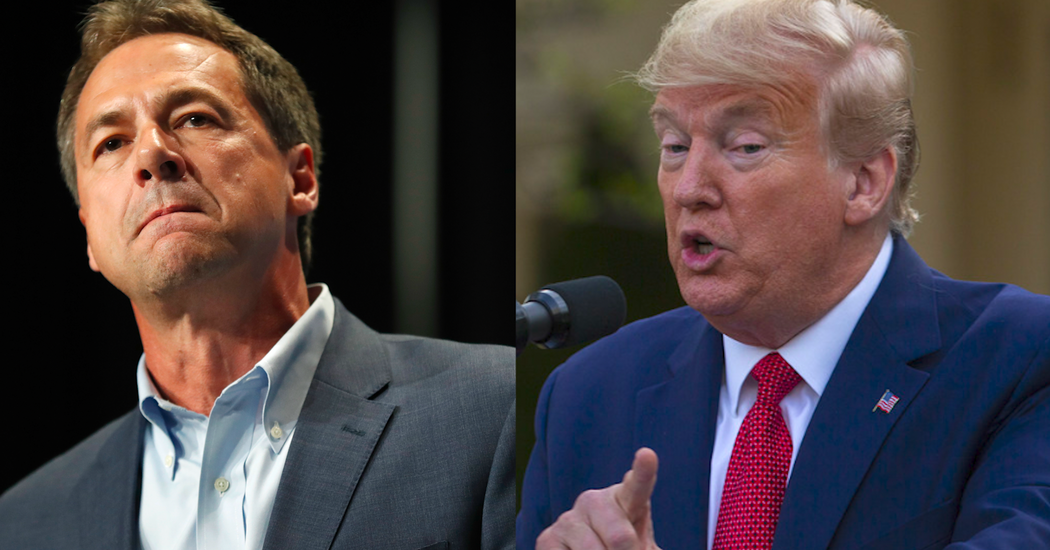 Listen to the Call: Bullock and Trump Discuss Testing