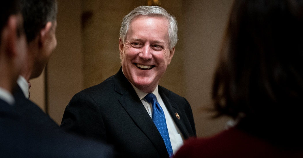 Trump Names Mark Meadows Chief of Staff, Ousting Mick Mulvaney