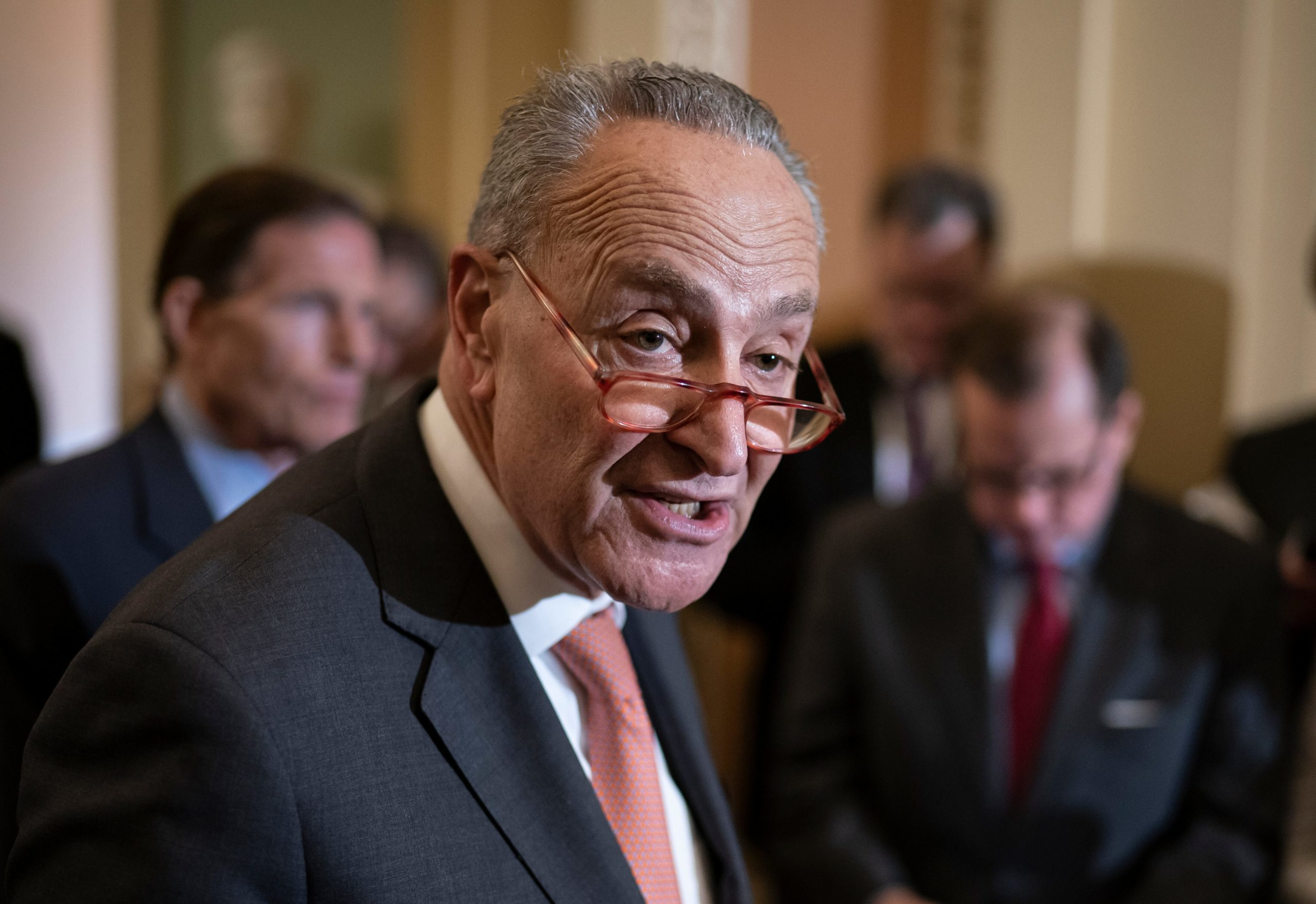 Schumer's Supreme Court saga not over, as GOP presses forward on historic censure