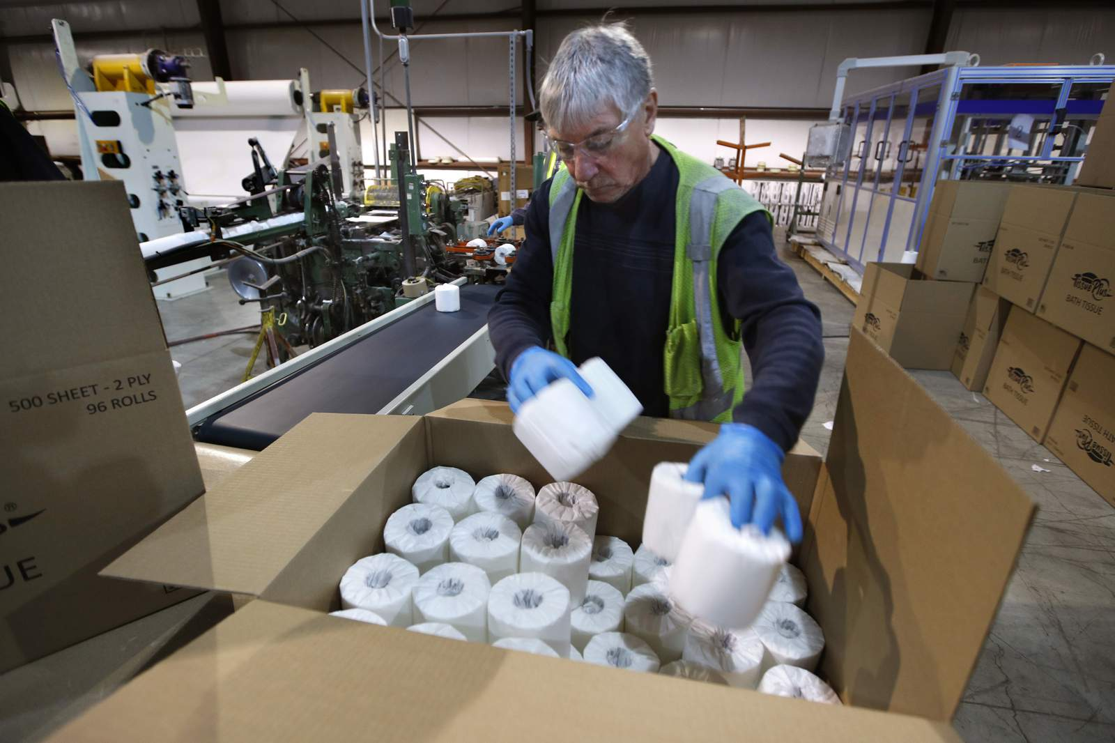 Amid virus, humble toilet paper is suddenly a hot commodity