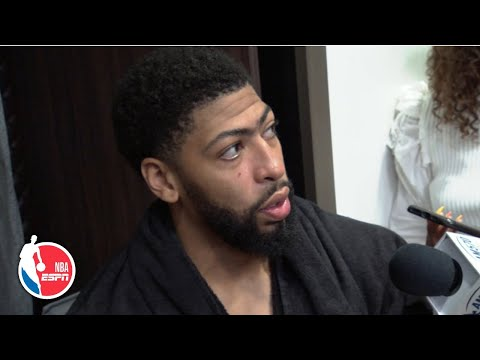 Anthony Davis: Beating the Bucks is just another game for us   NBA Sound