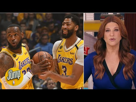 LeBron James and Anthony Davis boosted the Lakers' title chances – Rachel Nichols | The Jump